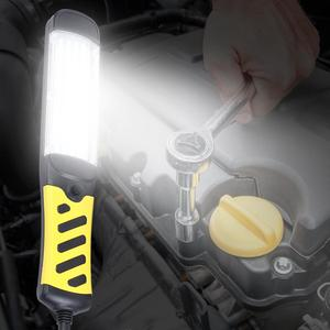 Image 5 - Portable LED Emergency Safety Work Light 80 LED Beads Flashlight Magnetic Car Inspection Repair Handheld Work Lamp