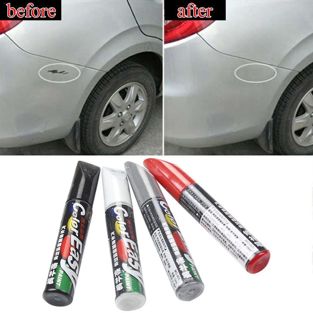 4 цвета авторучка для ремонта царапин для автомобиля Fix it Pro Уход за краской автостайлинг средство для удаления царапин авторучка для краски ...