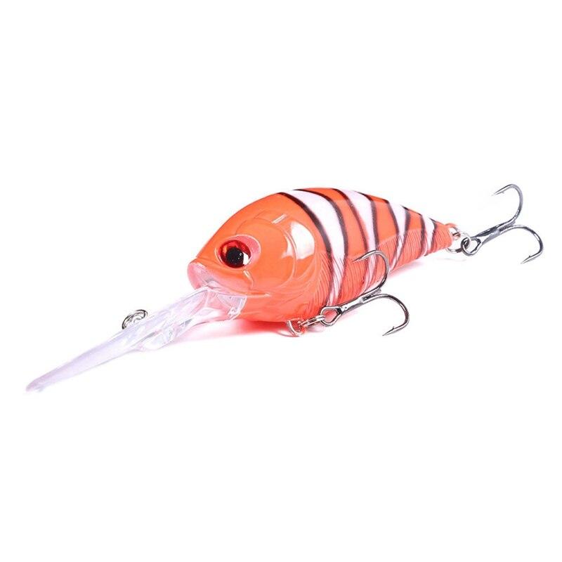 12.5cm kit isca de pesca wobbler crankbaits