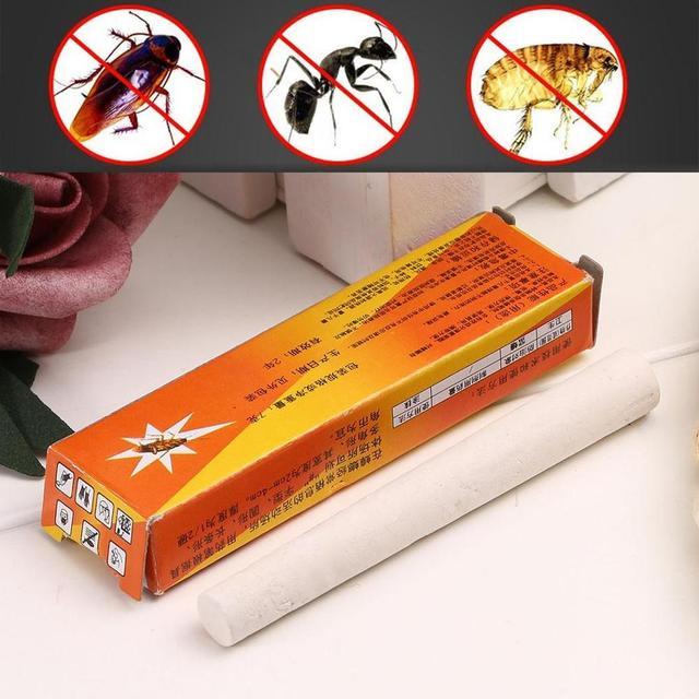 2 stks/pak Magic Insect Pen Krijt Tool Doden Kakkerlak Kakkerlakken Mier Luizen Vlooien Bugs Baits Lokt Ongediertebestrijding Insecticida