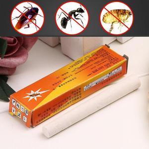 Image 1 - 2 teile/paket Magie Insekten Stift Kreide Werkzeug Töten Kakerlake Kakerlaken Ant Läuse Floh Bugs Köder Lockt Schädlingsbekämpfung Insecticida