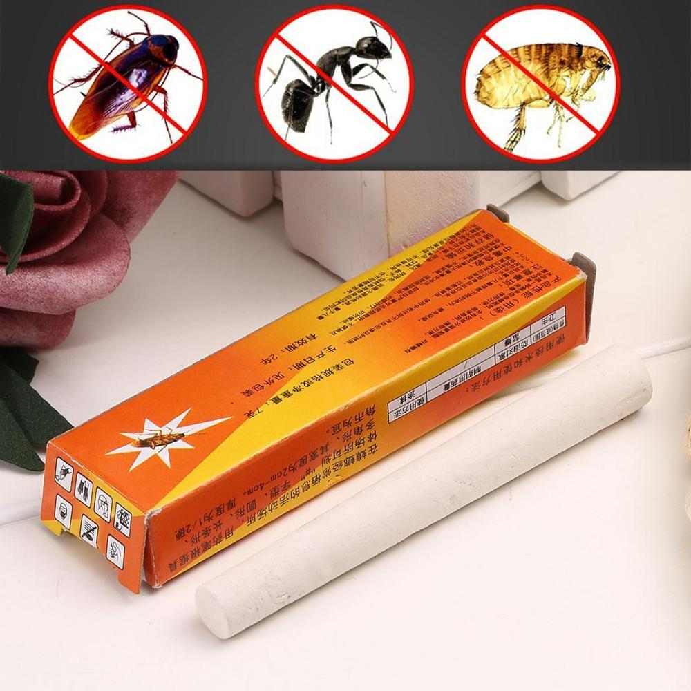 2Pcs/Pack Magic Insect Pen Chalk Tool Kill Cockroach Roaches Ant Lice Flea Bugs Baits Lures Pest Control Insecticida