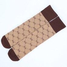 19 весенне-летние носки с плоской подошвой и надписью детские носки в Корейском стиле носки без пятки из чесаного хлопка Популярные брендовые носки для малышей