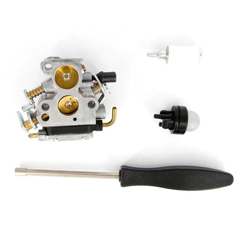Carburador para husqvarna 235 240 235e 236 236e 240e motosserra 574719402 545072601 com parafuso ferramenta lâmpada filtro de combustível