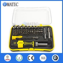 Screwdriver-Set with Ratchet Combination Repair-Tools 65-In-1 Socket Crv-Material