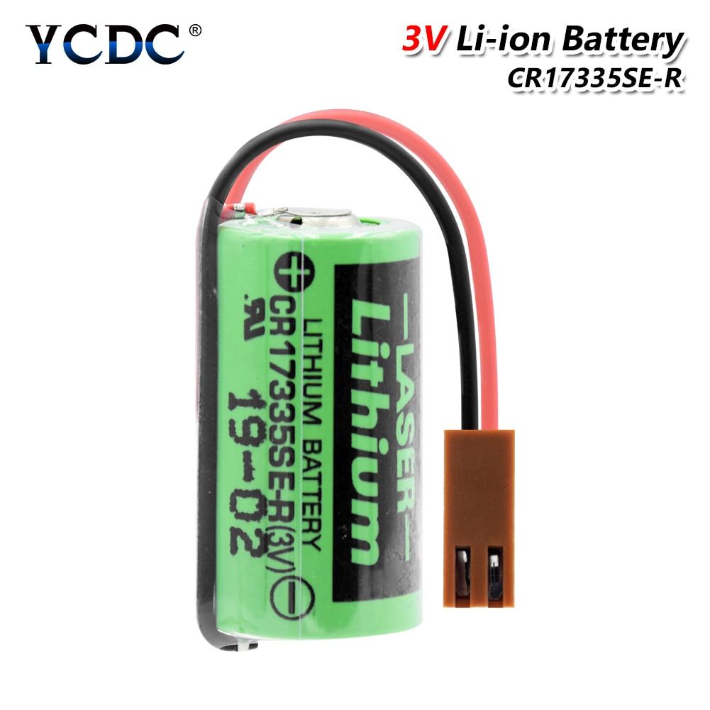CR17335SE-R CR17335SE CR17335 17335 3V система литиевых аккумуляторов FANUC PLC, штепсельная Вилка для литий-ионных аккумуляторов 1800 мАч, для промышленного использования