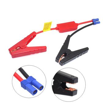 New Plug Connector Emergency Lead Cable Booster Cable For Auto Car Battery Connection Jumper Jump Start Prevent Reverse Charge image