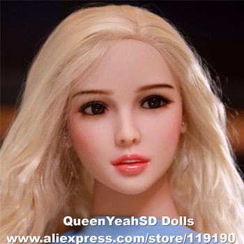 NEW Oral Sex Doll Head For Chinese Love Dolls Sexy Doll Silicone Heads With Oral Sexy Sex Products fro dolls 140-175cm