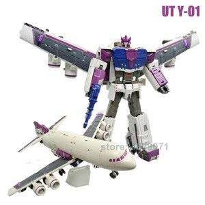 Image 4 - 독특한 장난감 액션 피규어 완구 UT Y 01 UT R 02B UT R 03 R03 연료 공급 업체 OP 메가 Galvatron 변형 변형