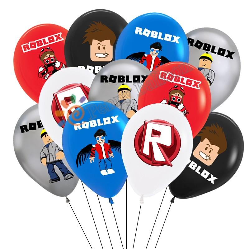 15 шт./лот робло шар Robbx воздушные шары видеоигры вечерние принадлежности для дня рождения вечерние Декор игрушки для детей Globos