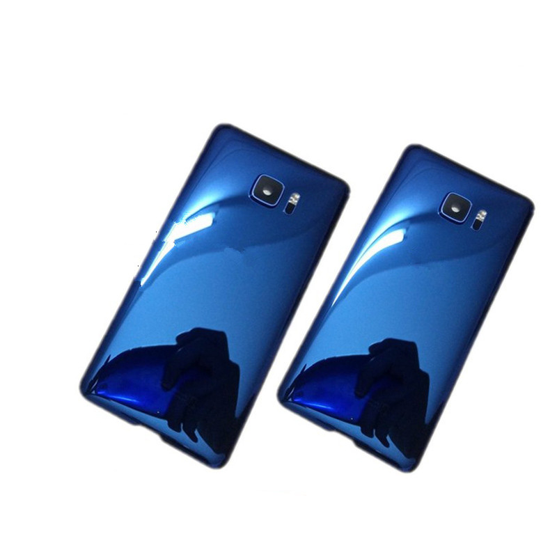 UUltra Back Cover For HTC U Ultra 5.7inch Original Housing Glass Rear Door Repair Replacement Battery Case