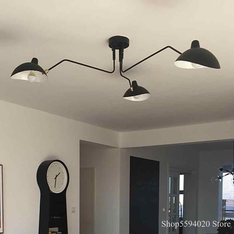 Retro Anhänger Lampen Nordic Industrie Einfache LED Kronleuchter
