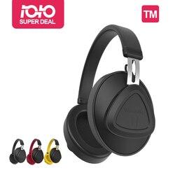 بلوديو TM سماعة لاسلكية تعمل بالبلوتوث سماعة مزودة بميكروفون مراقب ستوديو سماعة للموسيقى والهواتف تدعم التحكم الصوتي