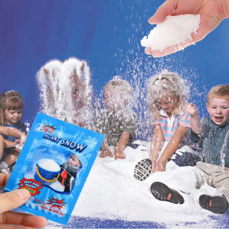 1 Pack Artificial Snowflakes Snow Mountain Modeling Clay Addition Slime Fluffy Polymer Educational Christmas Kids Toys Gifts G