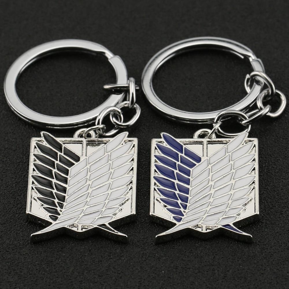 Porte-clés métal   L'Attaque des Titans 2