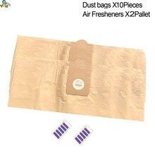 цена на Replacement Karcher dust bags for vacuum cleaner Karcher WD3 WD3200 WD3300 MV3 A2204 SE4001 6.904-051 6.959-130 Karcher parts
