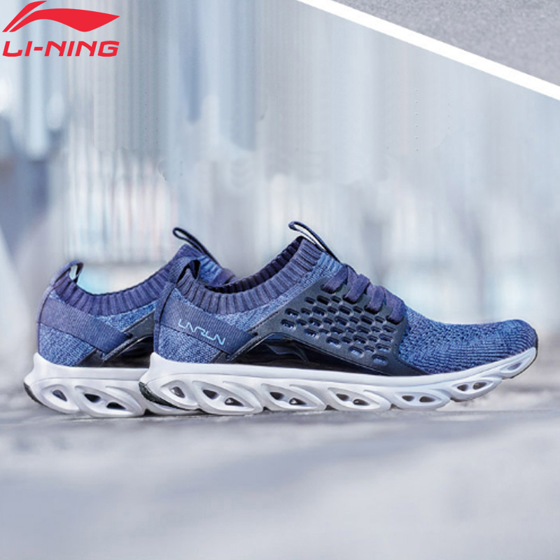 Li-Ning Men's LN ARC Running Shoes Mono Yarn Breathable Support LiNing Li Ning Cushion Durable Sport Sneakers ARHN113 XYP748