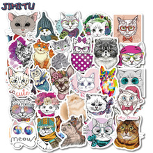 Cartoon Animals Stickers for Kids Funny Cute Sticker Set DIY Laptop Skateboard Suitcase Fridge Car Phone Waterproof Vinyl Decals