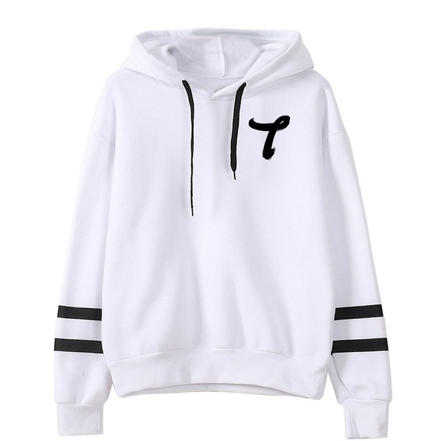 T1419 TEAM THEMED STRIPED HOODIE (15 VARIAN)