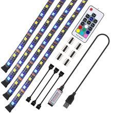 ТВ Светодиодная лента usb 5v rgb светодиодный светильник rgbw/rgbww