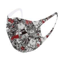 Máscaras de boca adulto lavável reutilizável anti poluição máscara dustproof anti-cuspindo máscara protetora máscara de máscara de boca #2s