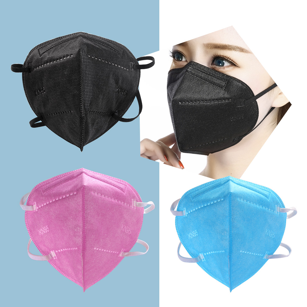 5-100 pièces masque visage KN95 masques faciaux FFP2 CE filtre masque maske de filtro antipolvo máscara mascarillas mascherine tapabocas 3