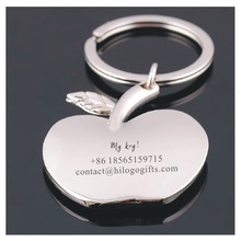 My keys, nice looking apple keychain customized free with your name+phone best gift for elder people love care keys