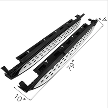 Universal Side Step Bar Aluminium Alloy Running Board For Mercedes Benz GLC Nerf Bar 4X4(China)