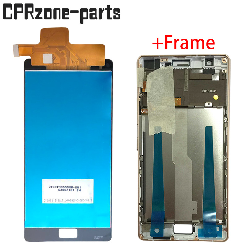 Display, Touch, With, Lcd, Frame, Sensor
