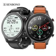 SENBONO Smart Watch Men Sport IP67 Waterproof Women Heart Rate MT18 Clock Music Player Bluetooth Call Smartwatch for IOS Android