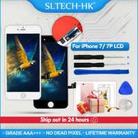 AAA + + + qualité LCD pour iPhone 7 7Plus remplacement d'écran pour Apple 8 8Plus pas de Pixel mort affichage 100% avec 3D Touch garantie