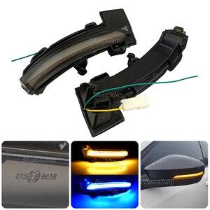 Image 3 - LED الديناميكي بدوره مصباح إشارة لسكودا اوكتافيا Mk3 A7 5E مرآة الرؤية الخلفية مصباح الوامض مؤشر ل VW T roc Troc T cross