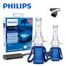 Philips 9012 светодиодный HIR2 Автомобильные фары Ultinon эфирные 6000K Противотуманные фары nebbia luces светодиодный para Авто диодные лампы для автомобилей 2 шт