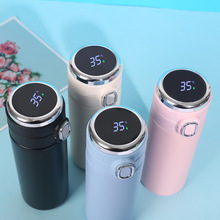 420ML Smart Thermos Stainless Steel Water Bottle Led Digital Temperature Display Coffee Thermal Mugs Intelligent Insulation Cups cheap CN(Origin) CHEN-A065 Eco-Friendly PORTABLE Large capacity Business Lovers vacuum Straight Cup CE EU LFGB Vacuum Flasks