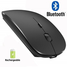4.0 Bluetooth Mouse Wireless Computer Mouse Silent Mause USB Rechargeable Ergonomic Mouse