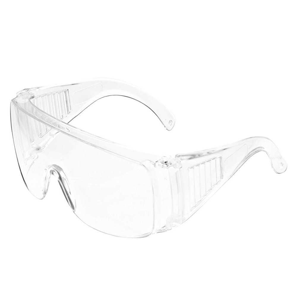 Clear Anti Dust Eye Protective Safety Glasses  Neutral / Goggles Anti Pollution Lightweight Glasses For Factory Lab Work Outdoor