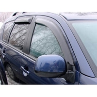 Defletores de janela 4 porta mitsubishi outlander xl/citroen c-crosser/peugeot 4007 2007-2012 (peugeot)