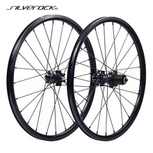 135mm-Disc-Brake Wheelset Recumbent Bike 451 Folding Velo SILVEROCK Mini Alloy 406