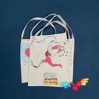 Bolso de compras KAPITAL para hombre y mujer, bolsa de lona Vintage, de alta calidad, con estampado de dibujos animados, 2021