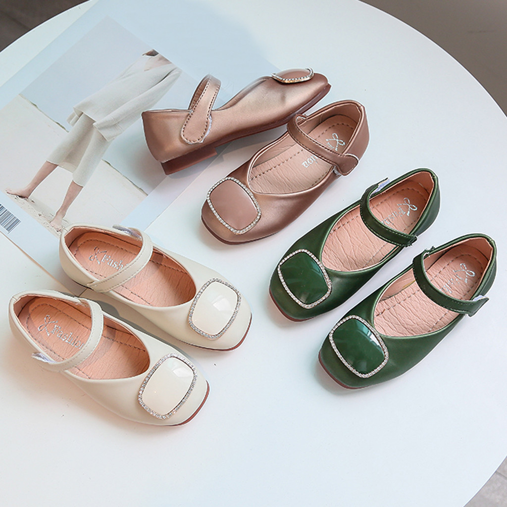 2020 New Kids Shoes Girls Girls Princess Shoes Toddler Kids Baby Leather Casual Single Sandal Shoes Zapatos Niña детская обувь