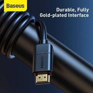 Image 5 - Baseus HDMI כבל HDMI ל HDMI כבל HDMI 2.0 עבור אפל טלוויזיה PS4 ספליטר 3m 5m 10m כבל HDMI 4K 60Hz HDMI כבל HDR Vedio כבל