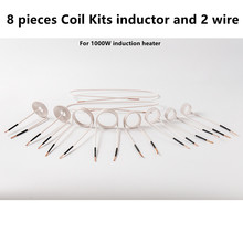 10Pcs Mini Magnetic Heater DIY Induction Coils Induction Coil Ductor Magnetic Induction Heater Kit Flameless Heat Accessories