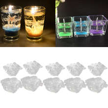 1 кг прозрачный парафин гель Желейный воск для изготовления свечей бездымного прозрачного кристального желе нетоксичный удерживающий 5-6% ароматическая нагрузка