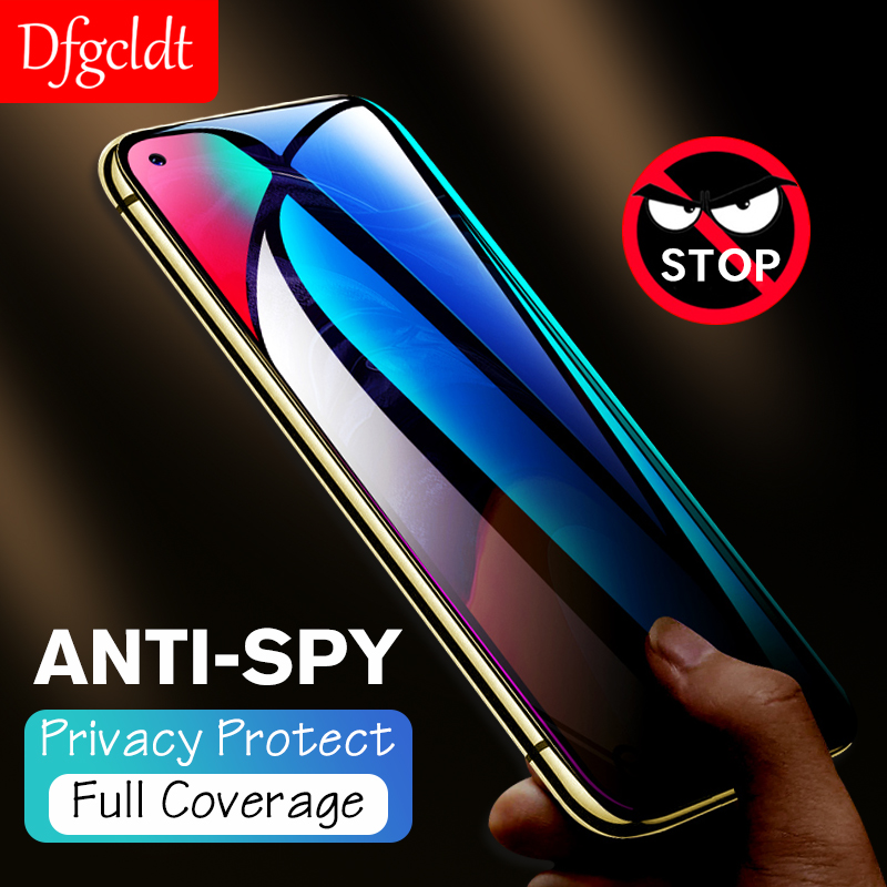 Anti-spy Tempered <font><b>Glass</b></font> for <font><b>Samsung</b></font> Galaxy A8s A6s A50 A30 M20 M10 A9 <font><b>A8</b></font> A6 J6 Plus <font><b>2018</b></font> Anti-Peep Privacy Screen Protector image