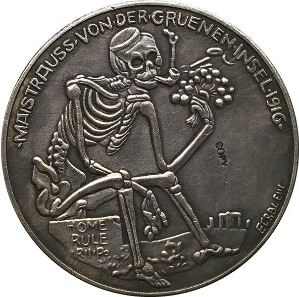 Alemão 1916 cópia moeda
