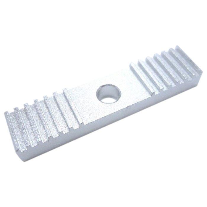 Alloy 2GT Belt Clamp RepRap 3D Printer Delta Kossel Prusa I3 Linear Motion CNC