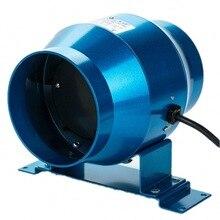 4 Inch Duct Fan Adjustable Speed Exhaust Fan Garden Hotel Kitchen Lab Boost Air Ventilator Pipe Ventilation Extractor 220V