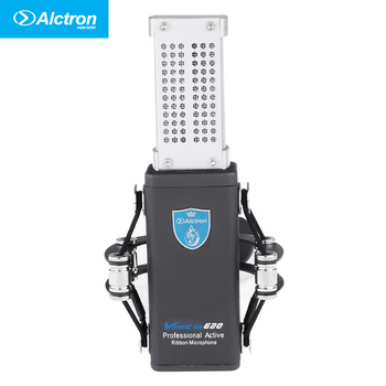 100% original Alctron Vista620 Prosessional Classic Active Ribbon Studio Microphone, Pro Ribbon