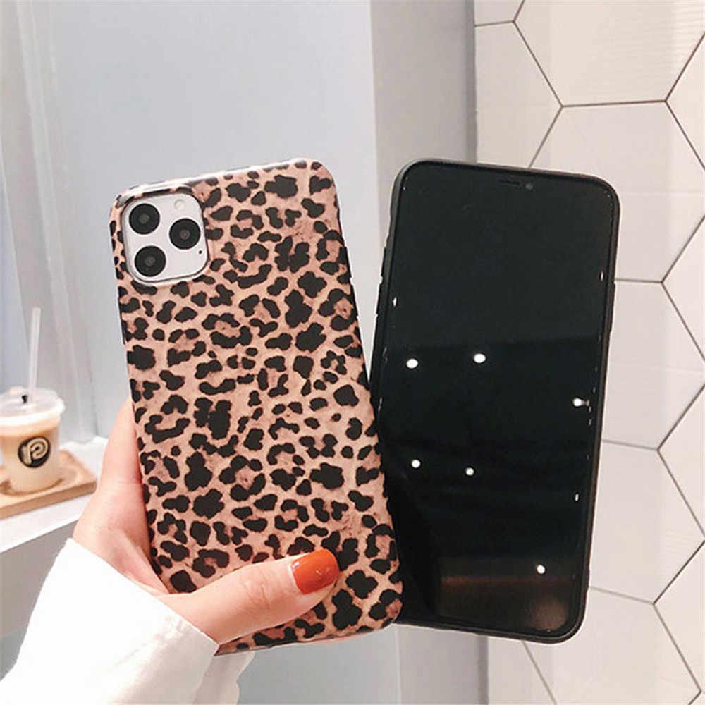 Lovebay Luxury Leopardพิมพ์โทรศัพท์กรณีสำหรับiPhone 7 ซิลิโคนIMDสำหรับIphone 11 Pro XS Max XR X 6 6S 7 8 Plus