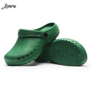 Image 1 - Sandalias quirúrgicas antideslizantes para sala de operaciones, zapatos médicos impermeables, zapatillas de trabajo de especialistas, novedad